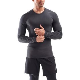 2XU Heat Base Layer Camiseta Manga Larga Hombre, negro